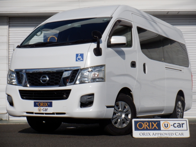 NV350キャラバン 4WD 福祉装置付車
